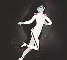 Marceline in Space by Julia Bland