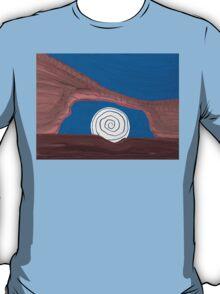 Moonscape original painting T-Shirt