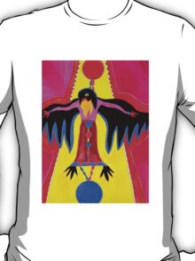 Crow Medicine original painting T-Shirt
