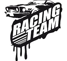Racing Team Graffiti Stamp Design by Style-O-Mat