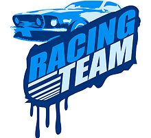Racing Team Graffiti Stamp by Style-O-Mat