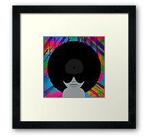 Funky Vinyl Records - Music Art Framed Print