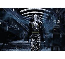 DWR Futuristic Cyborg and Retro Robots Photographic Print