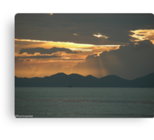 Winners make a habit of manufacturing their own positive expectations in advance of the event. Brian Tracy  .... Canvas Print