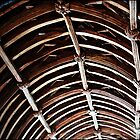 """"""" The Wagon  roof timbers  of St Winnows Church"""" by mrcoradour"""