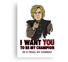 Uncle Tyrion Canvas Print