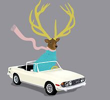 The Stag by levman