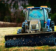 Street Sweeper Resting in a Field by Nazareth