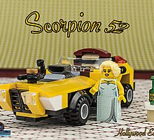 Scorpion 52 - Custom Car by Peter Kappel