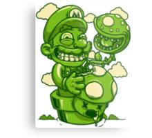 Mario Shrooms Metal Print
