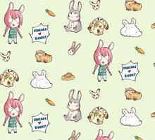 Pancake <3 bunny pattern by Zwiebelprinzn