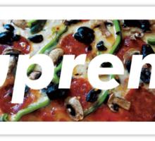 supreme PIZZA Sticker