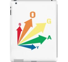 all signs point to... go gay! iPad Case/Skin