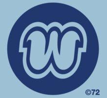 "Orange ""W"" T-shirt by Westlake1972"