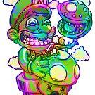 Trippy Mario by JoeyKnuckles