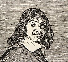 Rene Descartes, copy by Boris Mestchersky by Bridgeman Art Library