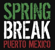 Spring Break Puerto Mexico by waywardtees