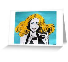Lady Gaga Greeting Card