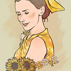 Like a sunflower by Jess-P