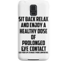 Bo Burnham - Prolonged Eye Contact Samsung Galaxy Case/Skin