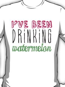 Drinking Watermelon T-Shirt