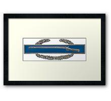 Combat Infantry Badge Framed Print