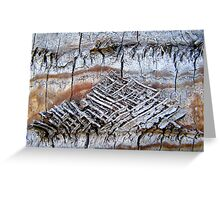 Woven in Time Greeting Card