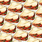 Lunch Room Sandwich Pattern by KellyGilleran