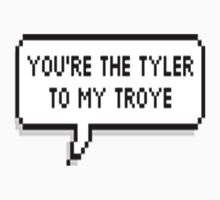 You're The Tyler To My Troye by oliviatbh