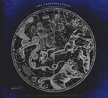 NY, Constellations by Daniel Watts