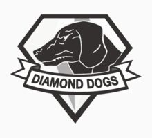 Metal Gear Solid V - Diamond Dogs (Monchromatic) Kids Clothes