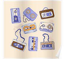 Audio cassette Poster