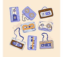 Audio cassette Photographic Print