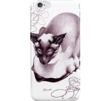 Siamese Champion Cat 2 iPhone Case/Skin