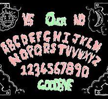 ouija board print by Missdatapig