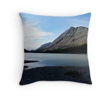 Icefields In Summertime Throw Pillow