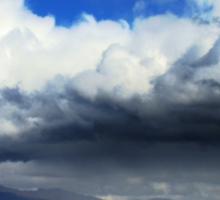 Storm On Wakatipu Sticker