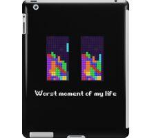 Tetris ruins my life. iPad Case/Skin