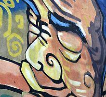 wall graffiti by bayu harsa