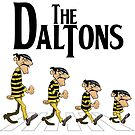 The Daltons - Abbey Road by Delinquent21