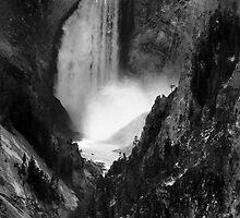 Yellowstone Canyon Falls, Yellowstone National Park, USA by Jonathan Maddock