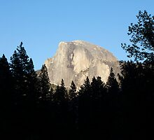 Half Dome from Sentinel Bridge, Yosemite National Park. by Jonathan Maddock