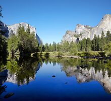 Yosemite Valley, California, USA. by Jonathan Maddock