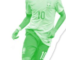 Neymar Junior at World Cup Brazil 2014 Sticker