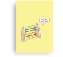 The Ever-Reliable Abacus Canvas Print