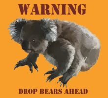Drop Bear warning by Monkeymo