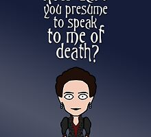 Vanessa Ives (card) by redscharlach