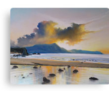 Dingle sunset II Canvas Print