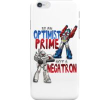 Optomist Prime iPhone Case/Skin