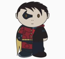 Robin/Tim Drake Half 'n Half Mini Folk by Leebo616